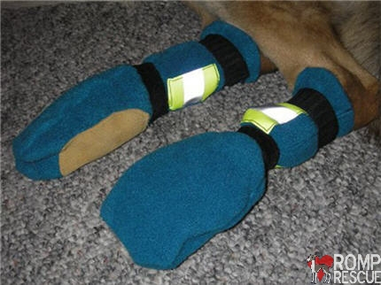 DIY Dog booties