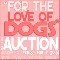 online rescue auction love of dogs