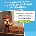 Barkbox coupon code promo july 2014 romp rescue