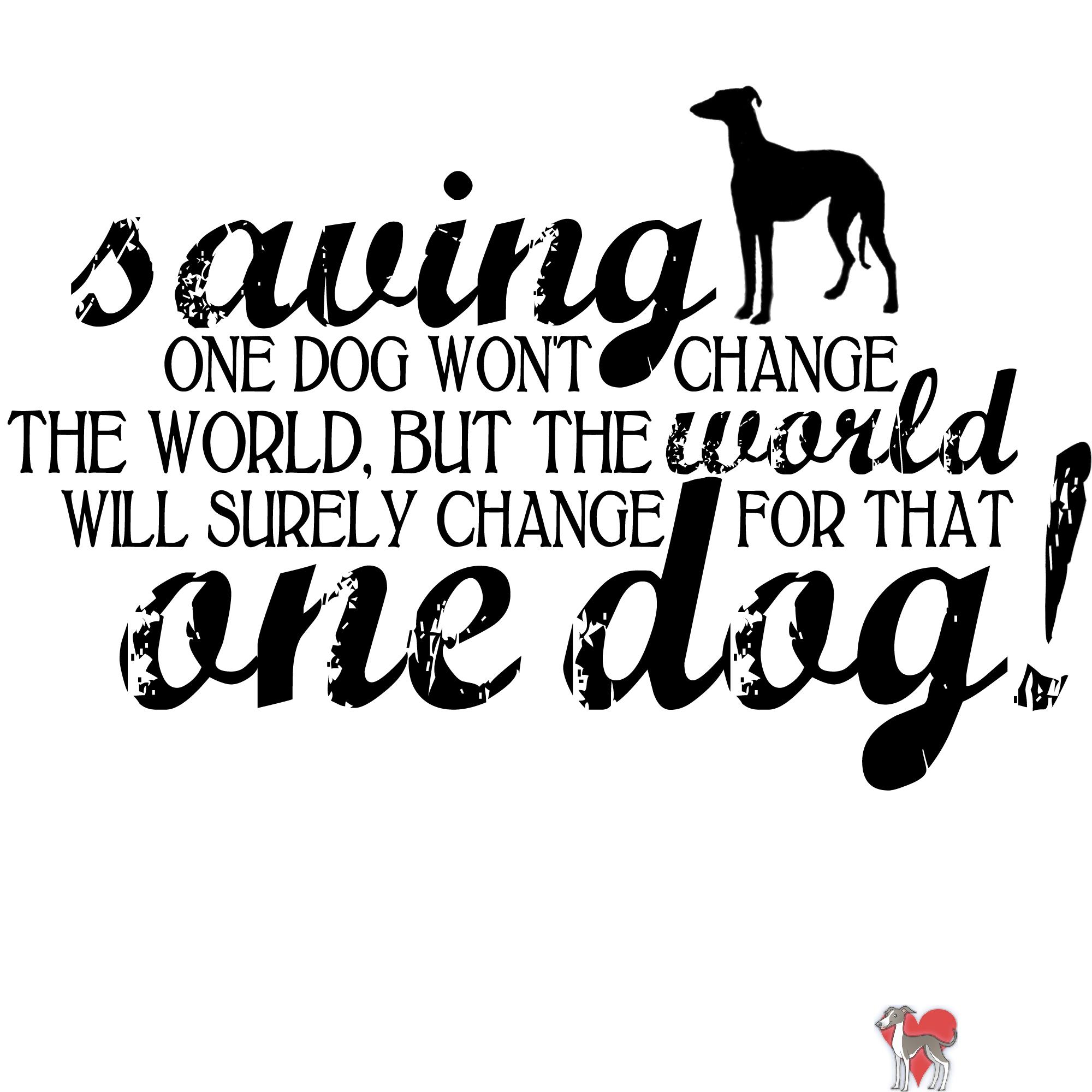 Save a dog shirt
