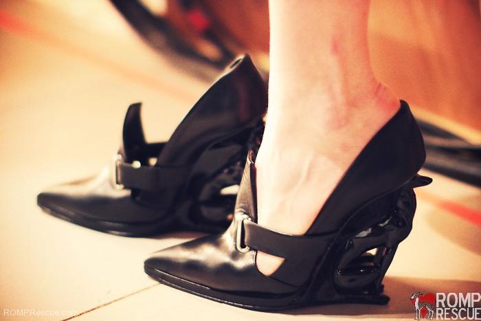 dog lover shoes, italian greyhound shoes, italian greyhound, greyhound shoes, alain quilici, david jorma, boots, heels, runway, fashion week, nyc, fashion, avant garde