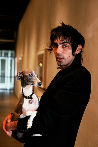 uffizi, shellac, rock band, famous, celebrity, celebrities, with, celebrities with italian greyhounds,