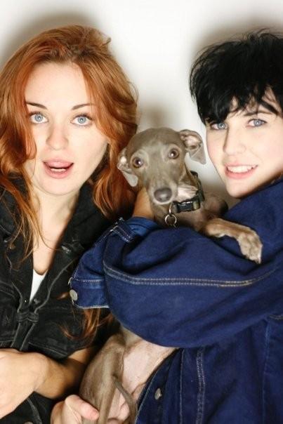 Zoe Graham, Jervoise Demin, Jervoise Jackets, Jervoise, Zoe Graham Italian greyhound, celebrity, celebrities, Zoe, Graham, Italian greyhound, UK, famous